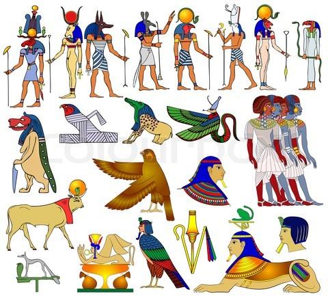 Ancient Egyptian Gods And Goddesses Symbols